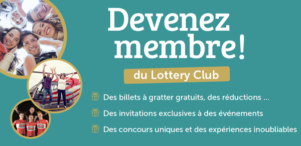 Visit Lottery Club (Loterie Nationale)